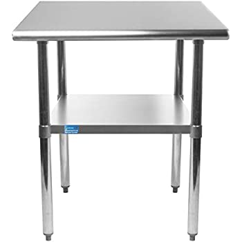 Amazon Com Amgood 24 Quot X 12 Quot Stainless Steel Work Table