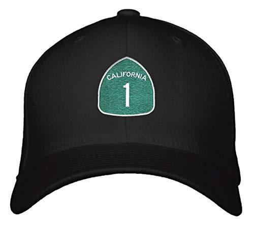 (PCH Pacific Coast Highway Hat - Adjustable Snapback Cap California 1)
