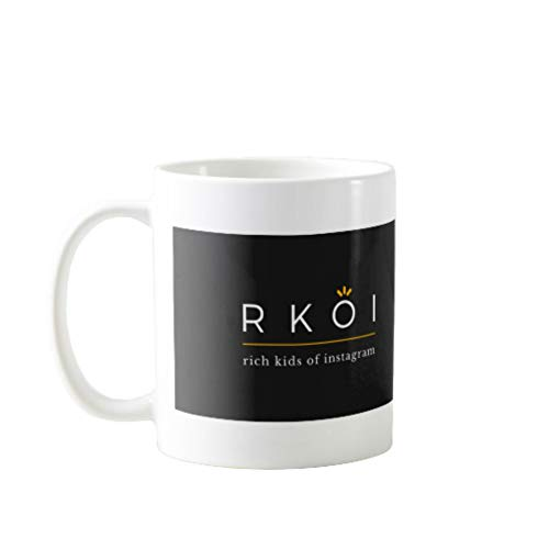 11OZ PREMIUM PORTABLE COFFEE MUGS FUNNY -KROL RICH KIDS OF INSTAGRAM - GIFT IDEAL FOR MEN, WOMEN, MOM, DAD, TEACHER, BROTHER OR SISTER #6614 (Best Of Rich Kids Of Instagram)
