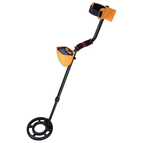 AW MD3010II Metal Detector Treasure Search Digger LCD Waterpoof Coil Gold Outdoor (Gold Detector Digger Metal)