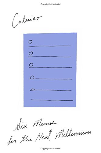 Six Memos for the Next Millennium by Mariner Books
