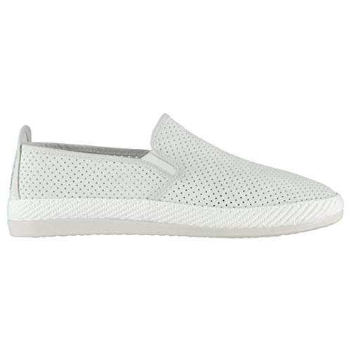 Chaussures Vendaval Hommes Baskets Flossy À Blanc Enfiler v0ONmynw8
