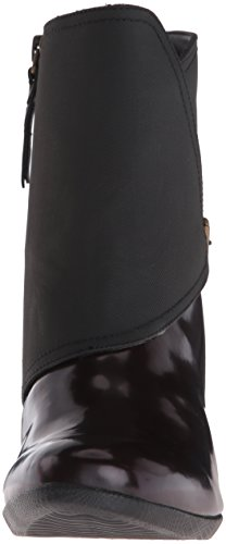 Trotters Womens Stormy Rain Boot Bordeaux / Nero