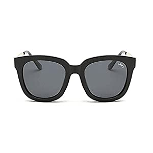 GAMT Retro HD Polarized Sunglasses Fashion Wayfarer Eyeglasses Black-grey