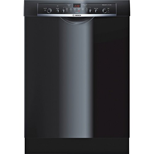 "Bosch SHE3AR76UC Ascenta 24"" Black Full Console Dishwasher"