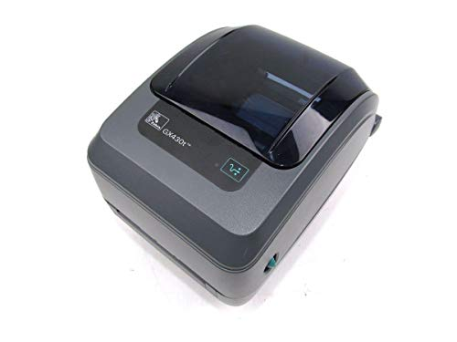 (Zebra GX430t GX43-100410-000 Label Printer)