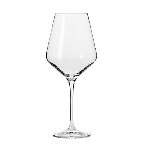 Household Essentials KROSNO Vera Large Wine Glasses (Set of 6), 16 oz, Clear (Best Affordable Sauvignon Blanc)