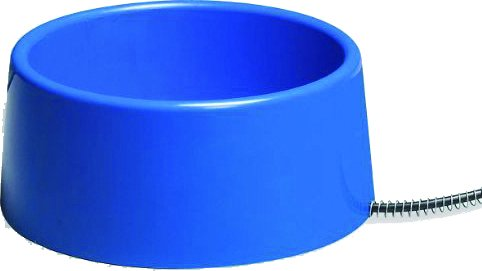 (ALLIED PRECISION INC P Heated Pet Bowl Blue 5)