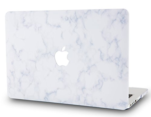 - LuvCase Rubberized Plastic Hard Shell Cover Compatible Newest MacBook Pro 13