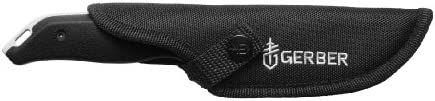 Gerber Moment Fixed Blade Knife, Gut Hook 31-002200