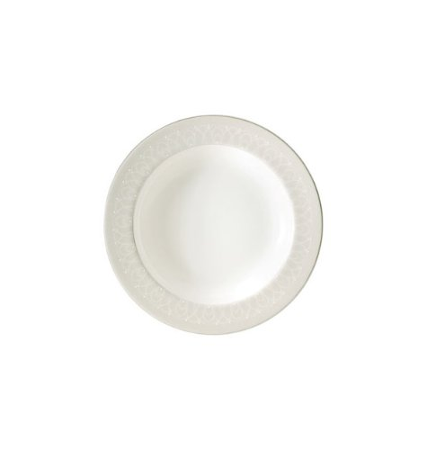 Waterford Ballet Icing Pearl 9'' Rim Soup Plate