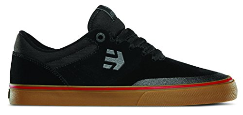 Etnies Men's Marana Vulc Skateboarding Shoe, Black/Gum/Grey, 11 M US