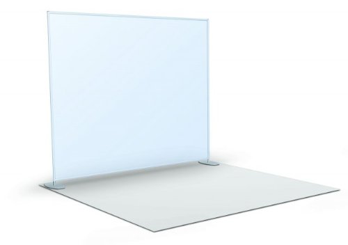 Straight Flat Wall Graphic Size: 96'' H x 96'' W