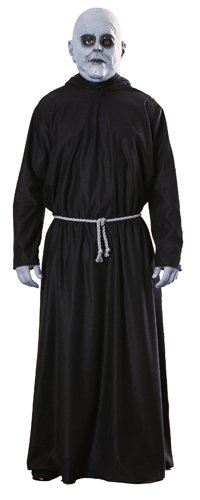 The Addams Family Uncle Fester Costume, Standard(Fits upto 44 Jacket size)