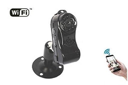 Agente007 - Micro Camara Espia Inalambrica Wifi P2P Full Hd 1080P Vision Nocturna Ir