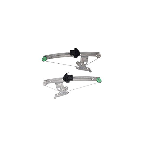 Evan-Fischer EVA167021214111 Window Regulator for Jaguar S-Type 00-02 Rear RH and LH Power Right and Left Side by Evan Fischer