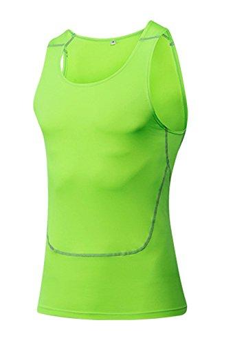 ぬいぐるみ偽物はずLNJLVI メンズ タンクトップ シャツ 加圧 姿勢矯正 スポーツ エクササイズ 速乾性 インナー インナーシャツ ノースリーブ