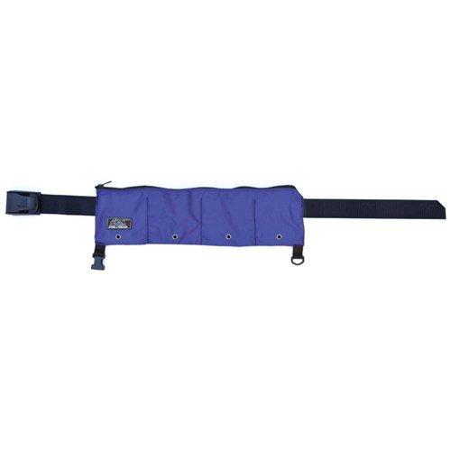XS Scuba Zippered 4 Pocket 20lb Weight Belt (Blue) ()
