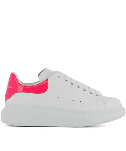 Alexander-McQueen-Womens-462214WHQYC9561-White-Leather-Sneakers