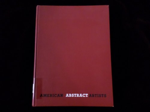 American Abstract Artists Three Yearbooks 1938 1939 1946 ()