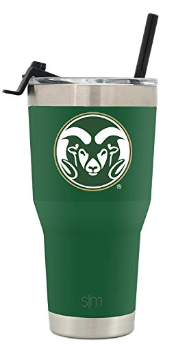 Simple Modern College Tumbler Straw Colorado State