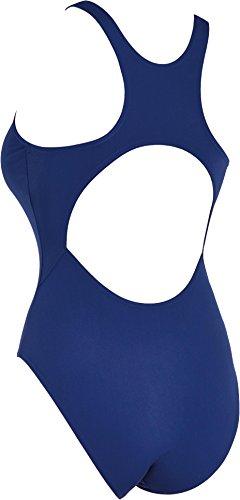 Zoggs Cottesloe - Bañador de una pieza para mujer, color medianoche azul