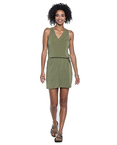 Toad&Co Liv Dress - Women's Thyme X-Small (Thyme Dress)
