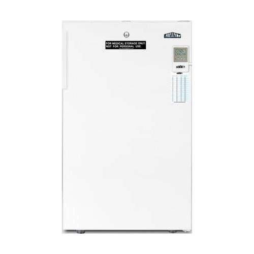 "FF511LBI7MEDADA 20"""" AccuCold MED Series ADA Compliant Commercial Medical Freestanding or Built In Compact Refrigerator 4.1 cu. ft. Capacity Temperature Alarm Hospital Grade Cord & Door Lock"