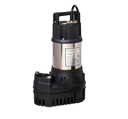 Atlantic PAF-25 Solids Handling Pond and Waterfall Pump, ()