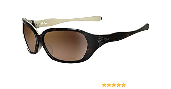 oakley womens betray asian fit sunglasses  amazon: oakley women's betray asian fit sunglasses (tortoise cream frame/vr50 brown gradient lens): clothing
