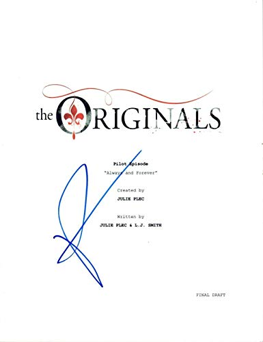 Phoebe Tonkin Signed Autograph THE ORIGINALS Pilot Episode Script COA AB from Unknown
