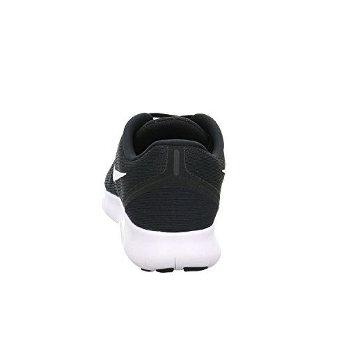 NIKE Men's Free RN, Black/White-Anthracite, 7 M US by Nike (Image #2)