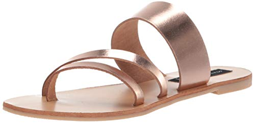 - STEVEN by Steve Madden Women's Geena Sandal, Rose Gold, 8 M US