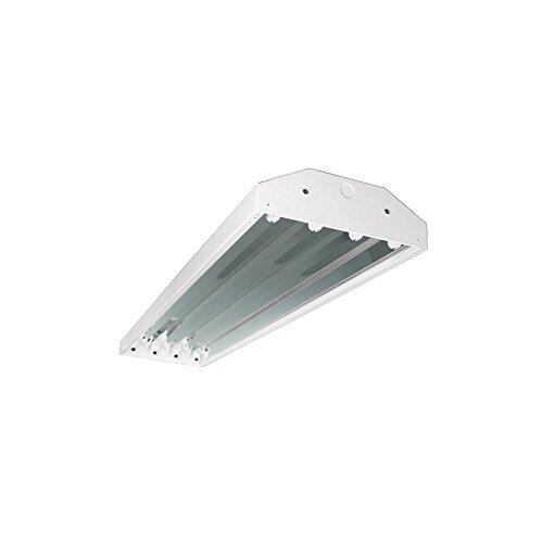 Four Bros Lighting Hb 4 T5 4 Bay Lighting 4 Lamp Fluorescent Fixture High Output T5 Ho  120 277V