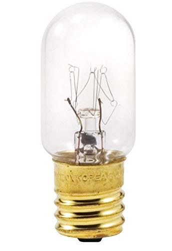 Sylvania 18152 40-Watt Clear Tubular Intermediate Base Incandescent T6.5 Bulb - Subzero Freezer Light Bulb - Amazon.com