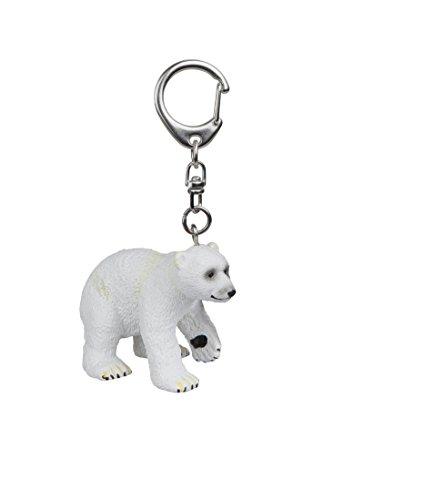(Papo Polar Bear Cub Key Ring,)