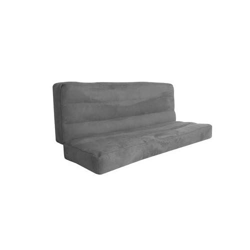 amazon    american furniture alliance futon mattress collection powerfill deluxe futon mattress charcoal amazon    american furniture alliance futon mattress collection      rh   amazon