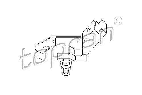 Intake Manifold Pressure Sensor MAP Fits CITROEN PEUGEOT 307 1.1-2.2L 1993-