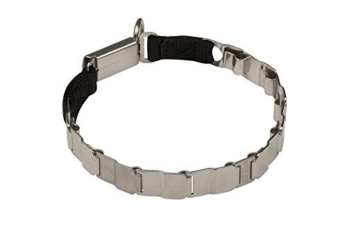 Herm Sprenger New 2016 Neck Tech Fun Stainless Steel Dog Collar 50051 010 (55) (Made in Germany) Size 19 inch (48 cm)