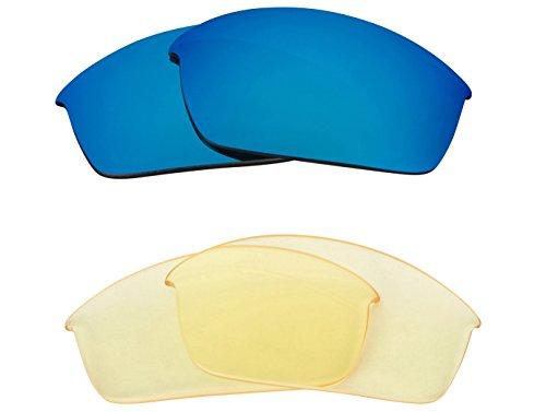 Best SEEK Replacement Lenses Oakley FLAK JACKET - HI Yellow - Jacket Sale Flak