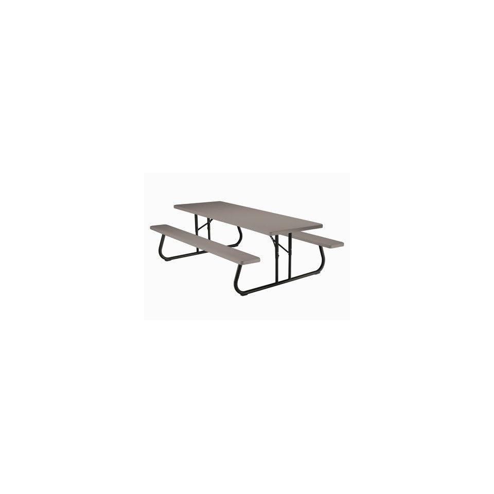 Lifetime 80123 96 Commercial Grade Folding Picnic Table