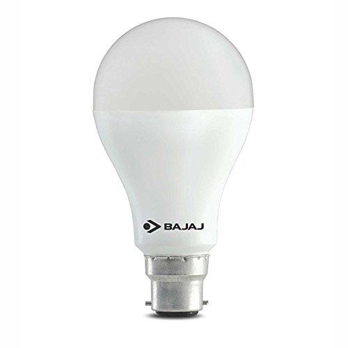 Bajaj 9-Watts B22 LED White Bulb, Pack of 2