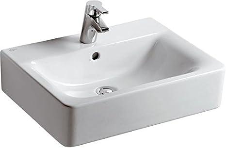 Ideal Standard E713901 Connect lavabo cube 55x46 cm blanc,