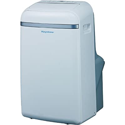 "Keystone KSTAP12B 12, 000 BTU Portable Air Conditioner with ""Follow Me"" LCD Remote Control, 115-volt"