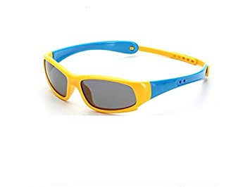 5fd6e266f5 Blueqier Gafas de Sol Deportivas PanpA Riding Sports Gafas de Silicona  Blandas Gafas de Sol para ...