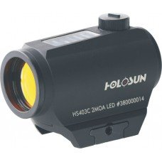 HOLOSUN HS403C Solar Power Micro Red Dot Sight, Black (Best Night Sights For Ar 15)