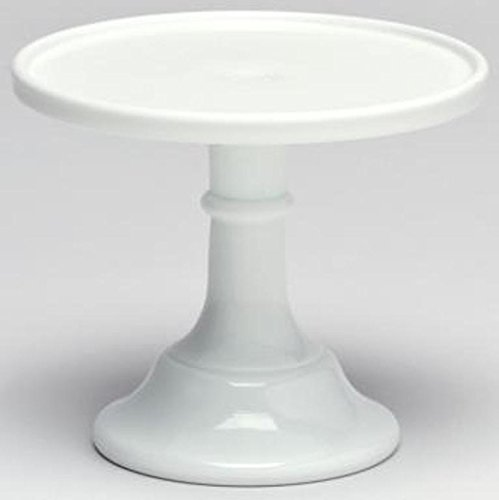Cake Plate Round Plain & Simple Mosser Glass (6