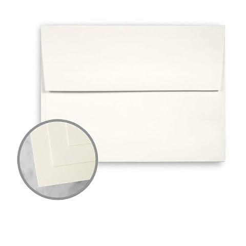 CLASSIC CREST Classic Natural White Envelopes - A6 (4 3/4 x 6 1/2) 70 lb Text Smooth 250 per Box - Classic Crest Envelope Natural