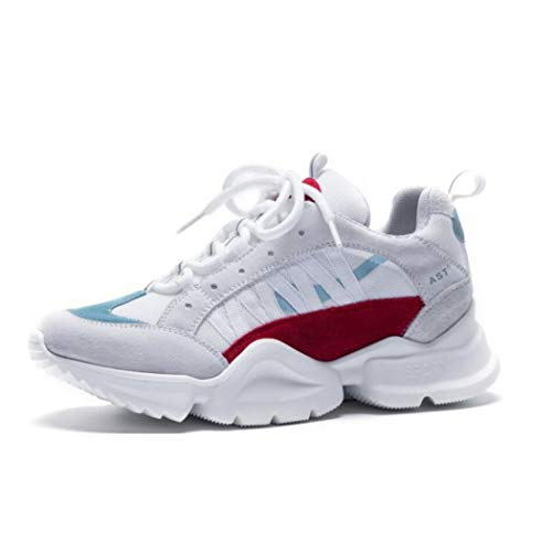 Sneakers Piatte up Classico Colore Autunno Mesh Incantesimo Leggero A Corsa Allenatori Donna Casual Lace Da Piedi Blue Scarpe Sport wTxvnOaR