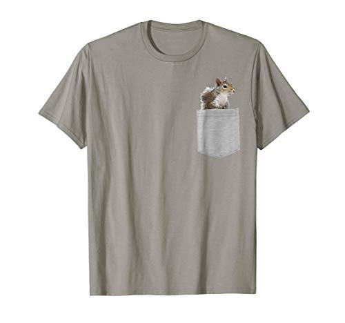 Squirrels Animals - Animal in Your Pocket American gray squirrel t-shirt